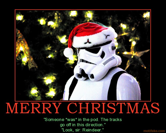 Merry Christmas Star Wars GIF 