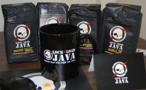 a collection of premium coffee from Lock-N-Load Java